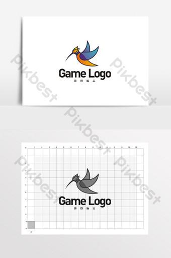 juego de aves desarrollo de software logo vi Modelo CDR
