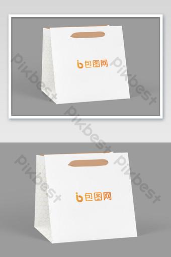 Túi giấy bao bì tote mockup Bản mẫu PSD