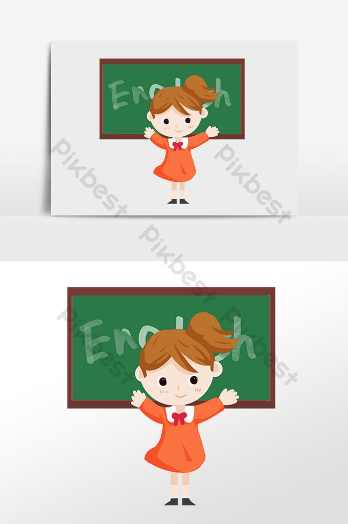 ومن ناحية رسم التعليم تعلم الانجليزية الكرتون طالب التوضيح صور Png Psd تحميل مجاني Pikbest