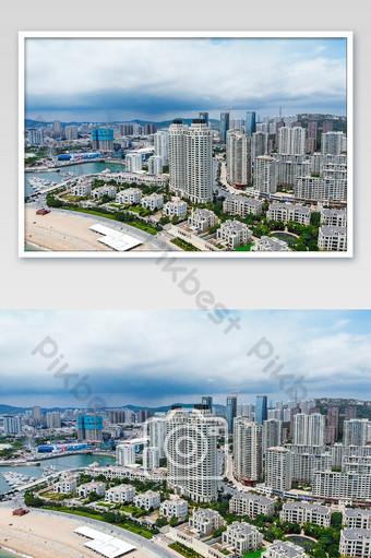 داليان شينغهايوان الساحل صور المباني التصوير التصوير قالب JPG