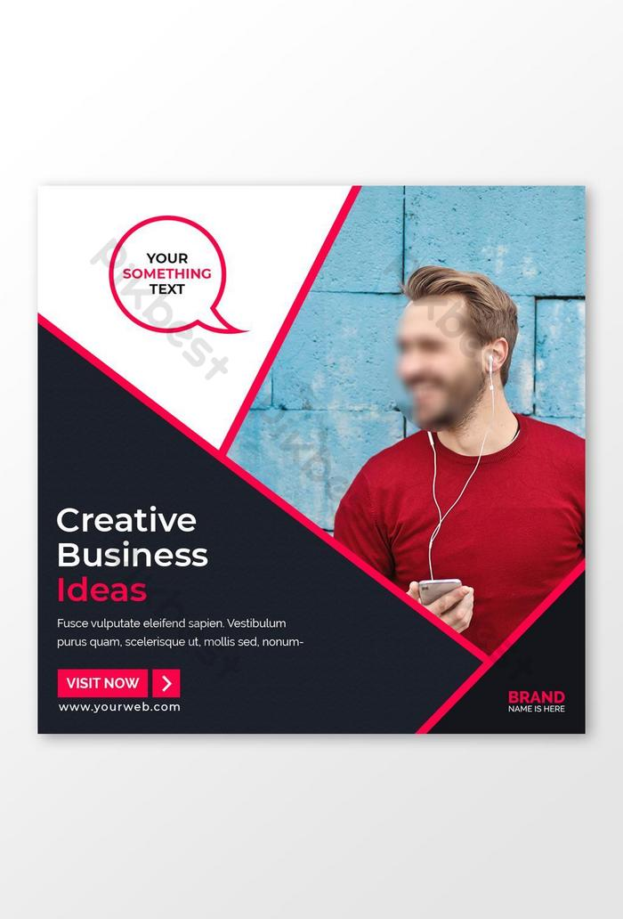 Creative Business Ideas Social Media Post Template Psd Free Download Pikbest