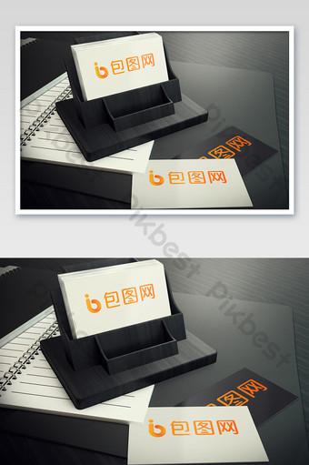 دفتر ملاحظات وبطاقة مكتب قالب PSD