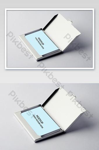 قالب نموذج حالة بطاقة مكتب الأعمال قالب PSD