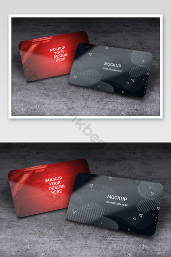 نموذج بطاقة عمل مكتب العمل قالب PSD