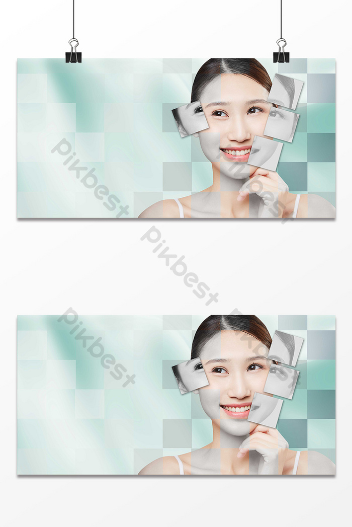 Medical Beauty Skin Care Maintenance Promotion Background Backgrounds Psd Free Download Pikbest