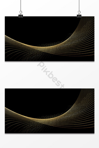 texture senior black gold business technology line advertising background map Backgrounds Template PSD
