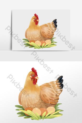Gambar Ayam Petelur Template Psd Png Vektor Download Gratis Pikbest