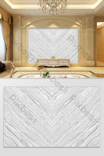 hd الحديثة أبيض وأسود رمادي نمط الحجر غرفة المعيشة التلفزيون خلفية الجدار الديكور والنموذج قالب PSD