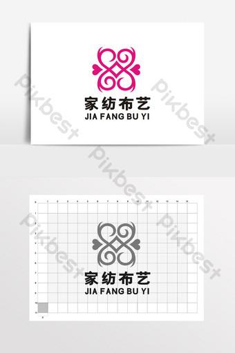 textiles para el hogar tienda de comestibles joyería logo signo vi Modelo CDR