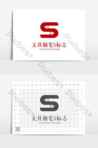escuela educación papelería tienda carta logo Modelo AI