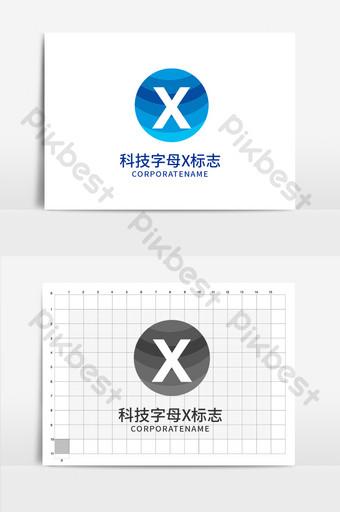 tecnología ai letra x logo Modelo AI