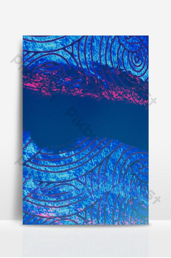 藍色紋理質感敦煌壁畫背景 背景 模板 PSD