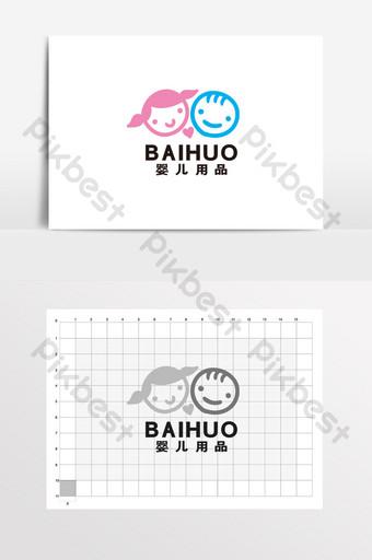 Lindos productos para bebés Ropa de maternidad y niños LOGO Logo VI Modelo CDR