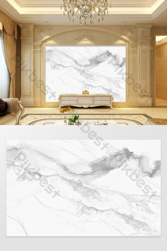 هد الحجر الطبيعي نمط مجردة السمك البطن ضوء أبيض فاخر كبير لوحة الخلفية الديكور والنموذج قالب TIF