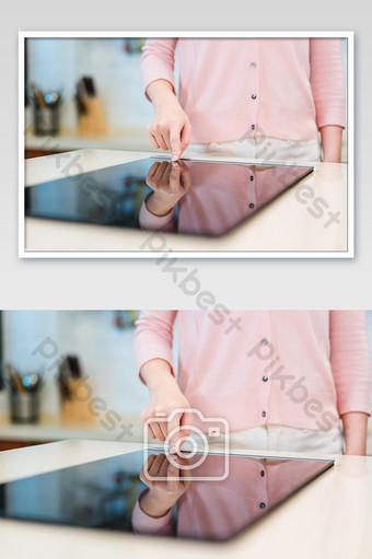 نقطة اليد البسيطة الذكية صور طباخ التعريفي التصوير التصوير قالب JPG