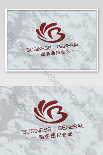 Maqueta de logotipo brillante UV rojo sobre patrón de tela tejida blanca Modelo PSD