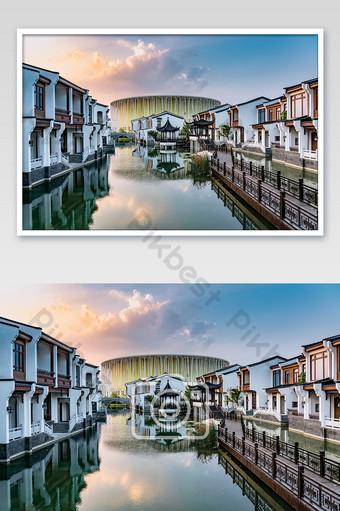 惠州建築傳統無錫太湖劇院 攝影圖 模板 JPG