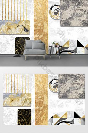 Mur d'arrière-plan de marbre de luxe lumineux minimaliste moderne minimaliste Décoration et modèle Modèle PSD