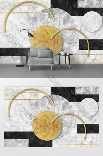 Mur d'arrière-plan géométrique de texture géométrique Décoration et modèle Modèle PSD