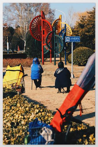 Orange Serene City Photo Template JPG