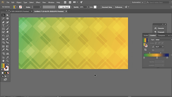 Adobe Illustrator Tutorial: How to make a Gradient Background II