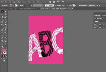 Adobe Illustrator Tutorial: A Fun Distortion Effect in Adobe Illustrator