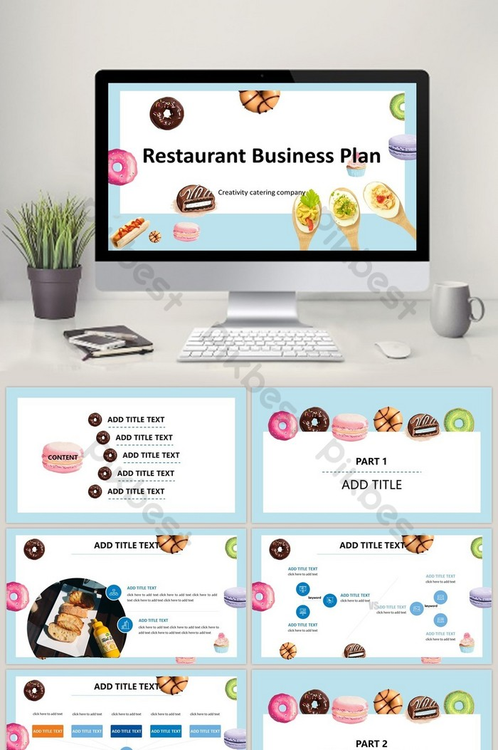 Restaurant Business Plan Project Template PPT | PowerPoint template