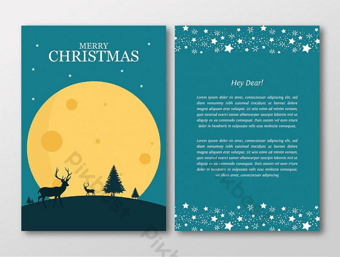 15+ Great Christmas Invitation Card Template To Make Your Party Stand Out