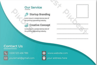 10+ Free postcard template to be used for invitation and business branding
